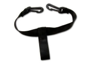 Elastic strap with clips for Powakaddy lower bag housing